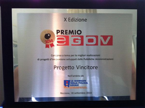 Premio E-GOV 2014