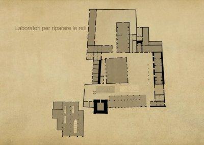 Tavolo Mappe - l'edificio
